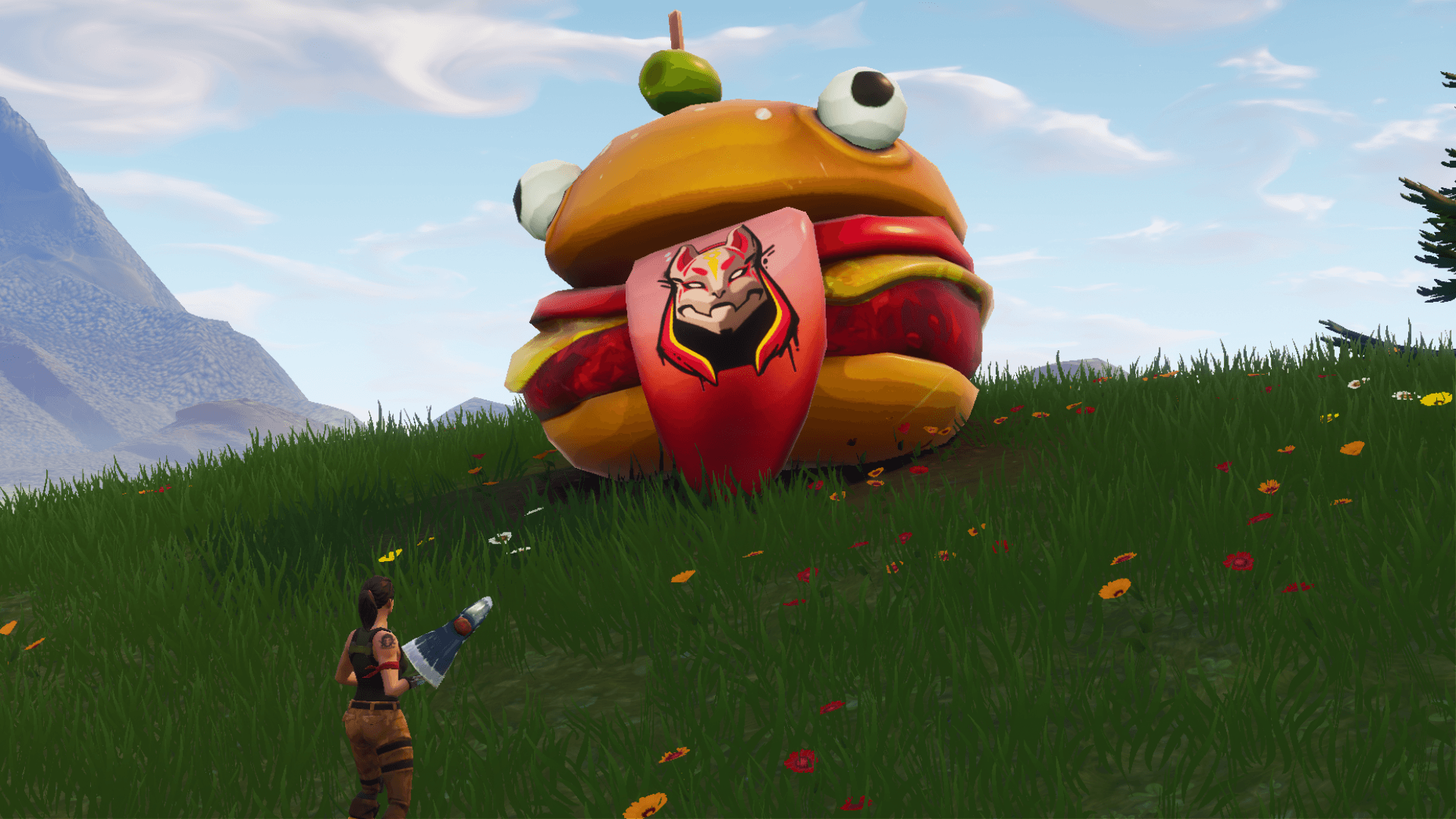 1920x1080 Durr Burger Skin and More Leaked from Fortnite V5.2 Files