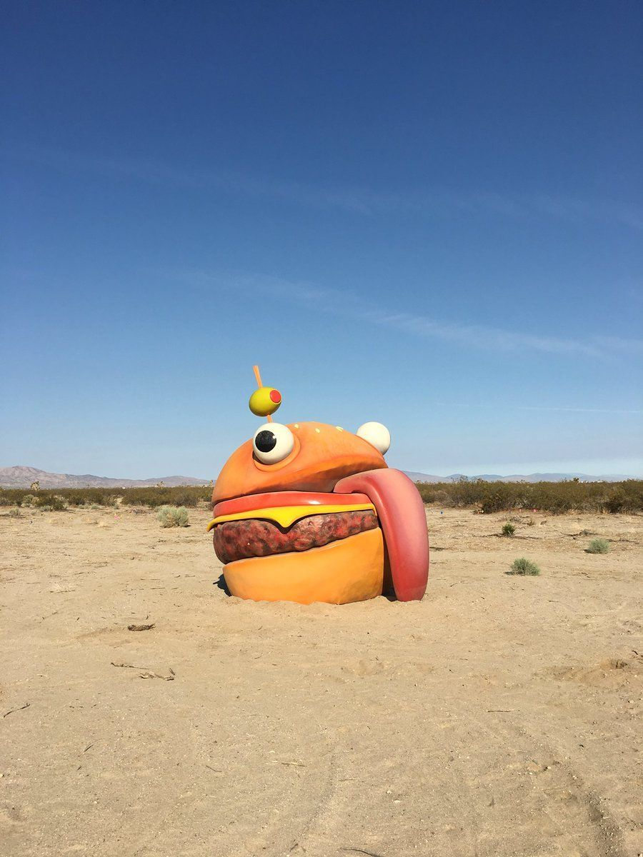 900x1200 Fortnite's Durr Burger was found in the middle of a California ...