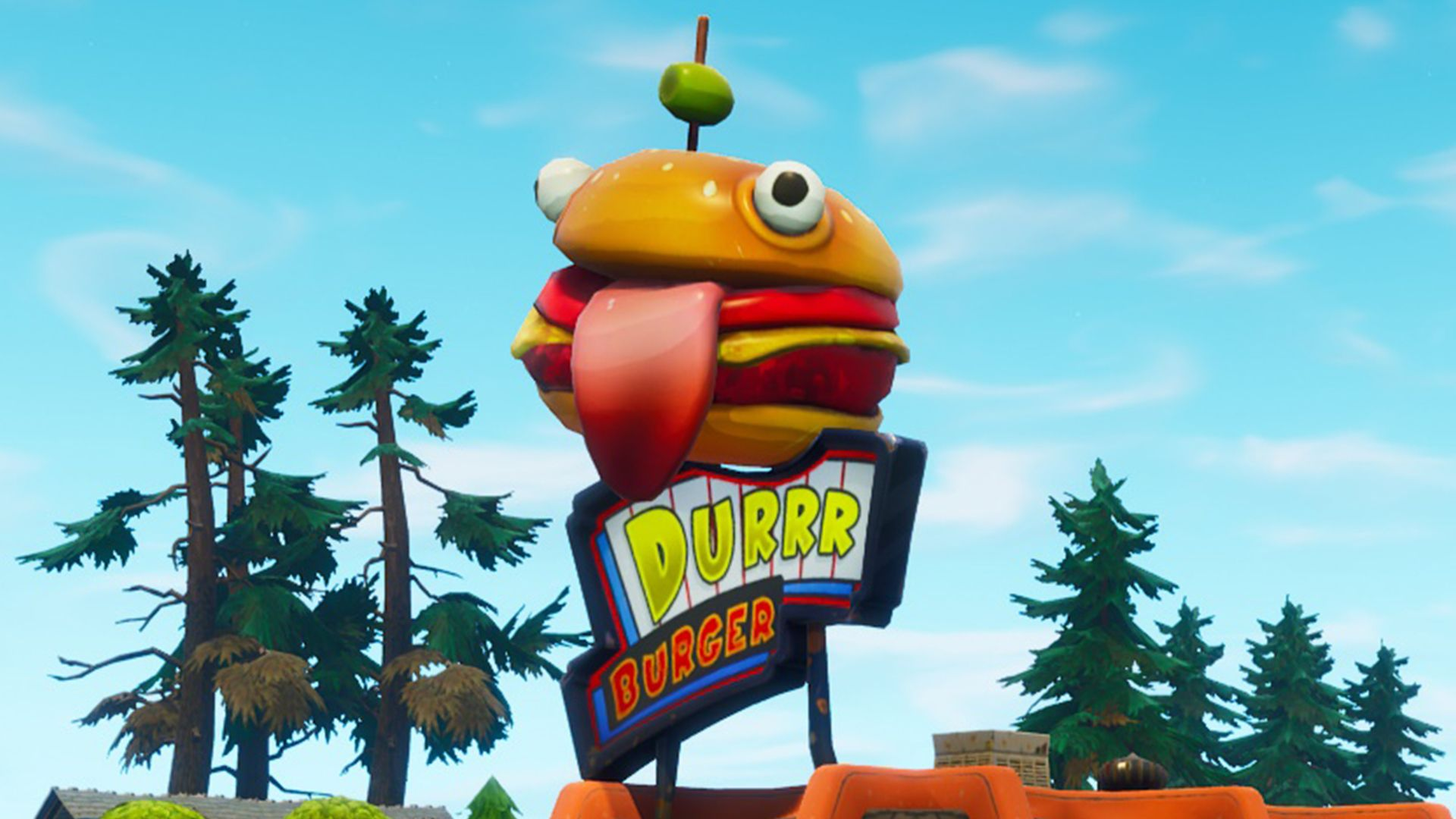 1920x1080 Fortnite's new skins include the Durr Burger, a sushi chef, and The ...