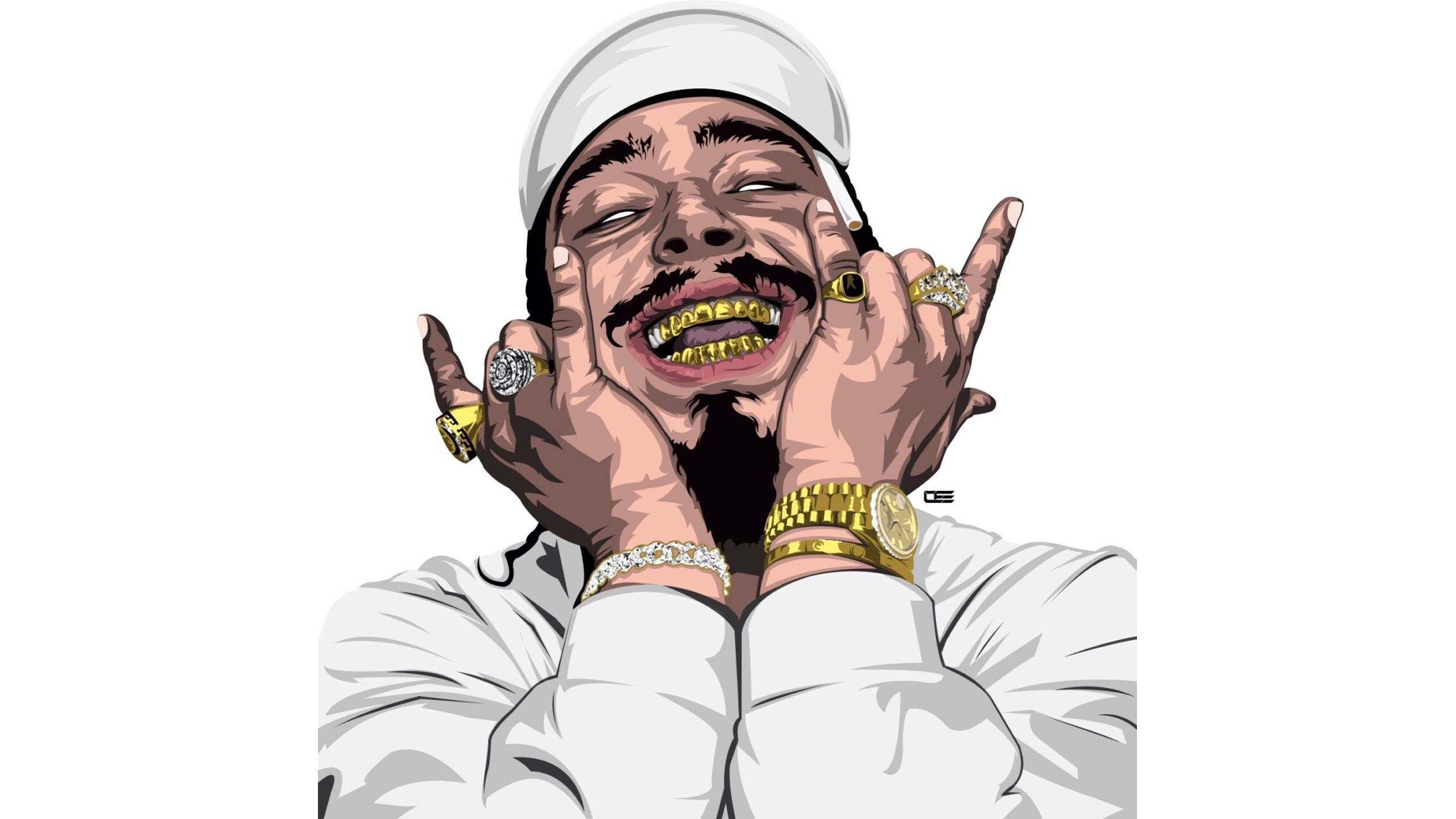 2560x1440 Post Malone Type Beat - Charge (Prod. By KVRBE) - YouTube