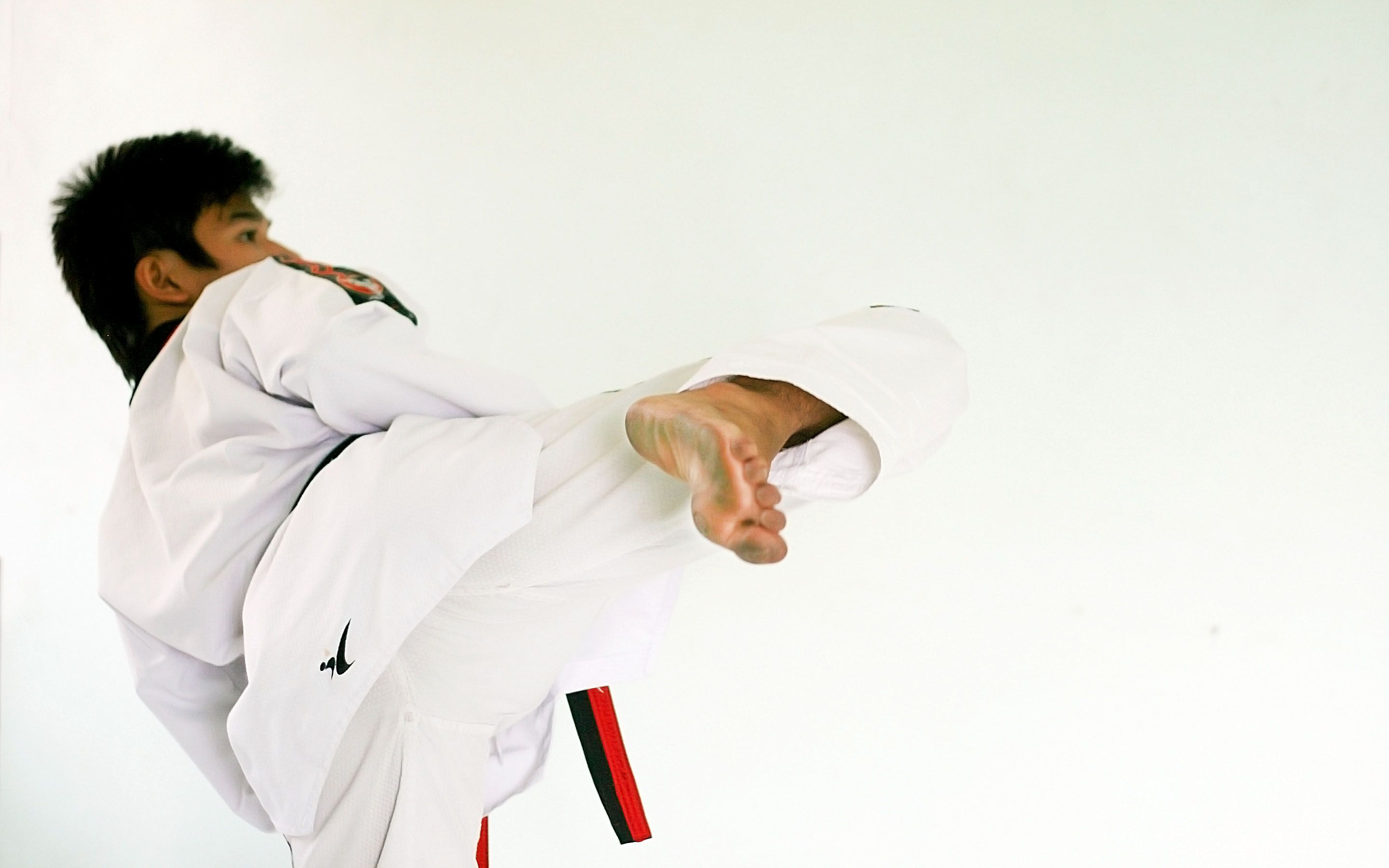 2880x1800 How to Deliver a Roundhouse Kick in Tae Kwon Do: 3 Steps