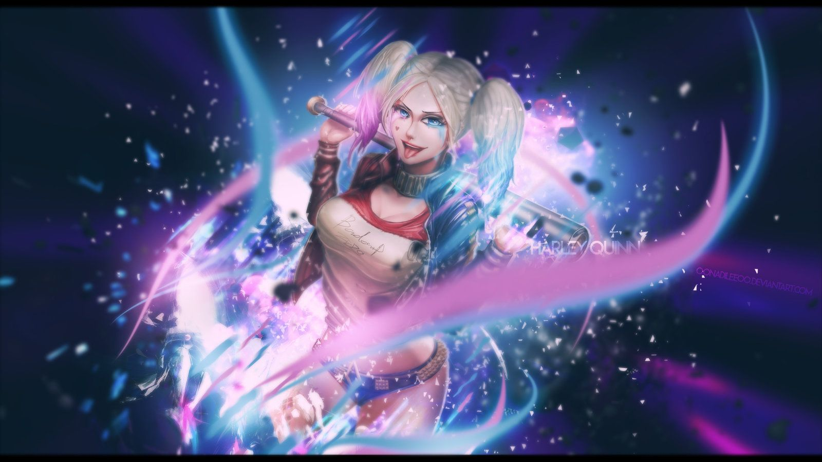 1600x900 Wallpaper | Suicid Squad | Harley Quinn by oOnadileeOo on DeviantArt