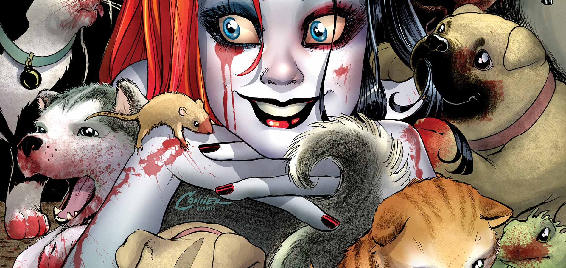 1900x900 Comics Harley Quinn wallpapers (Desktop, Phone, Tablet) - Awesome ...