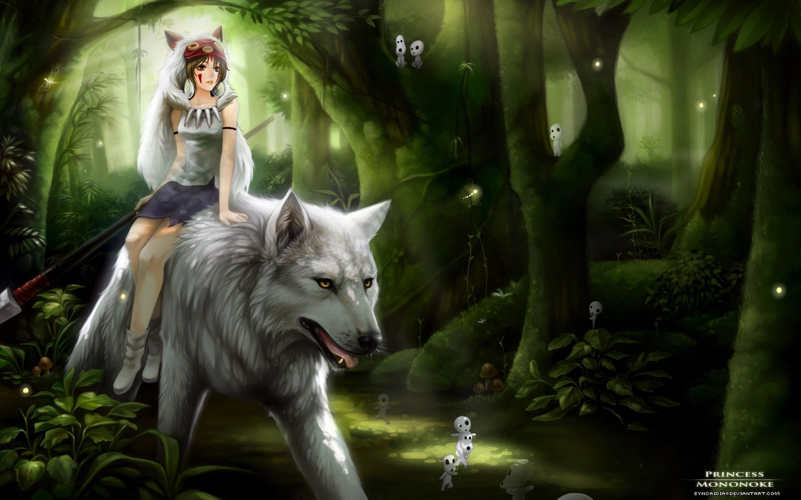 2560x1600 Little Red Riding Hood And The Wolf Wallpapers, Little Red Riding ...