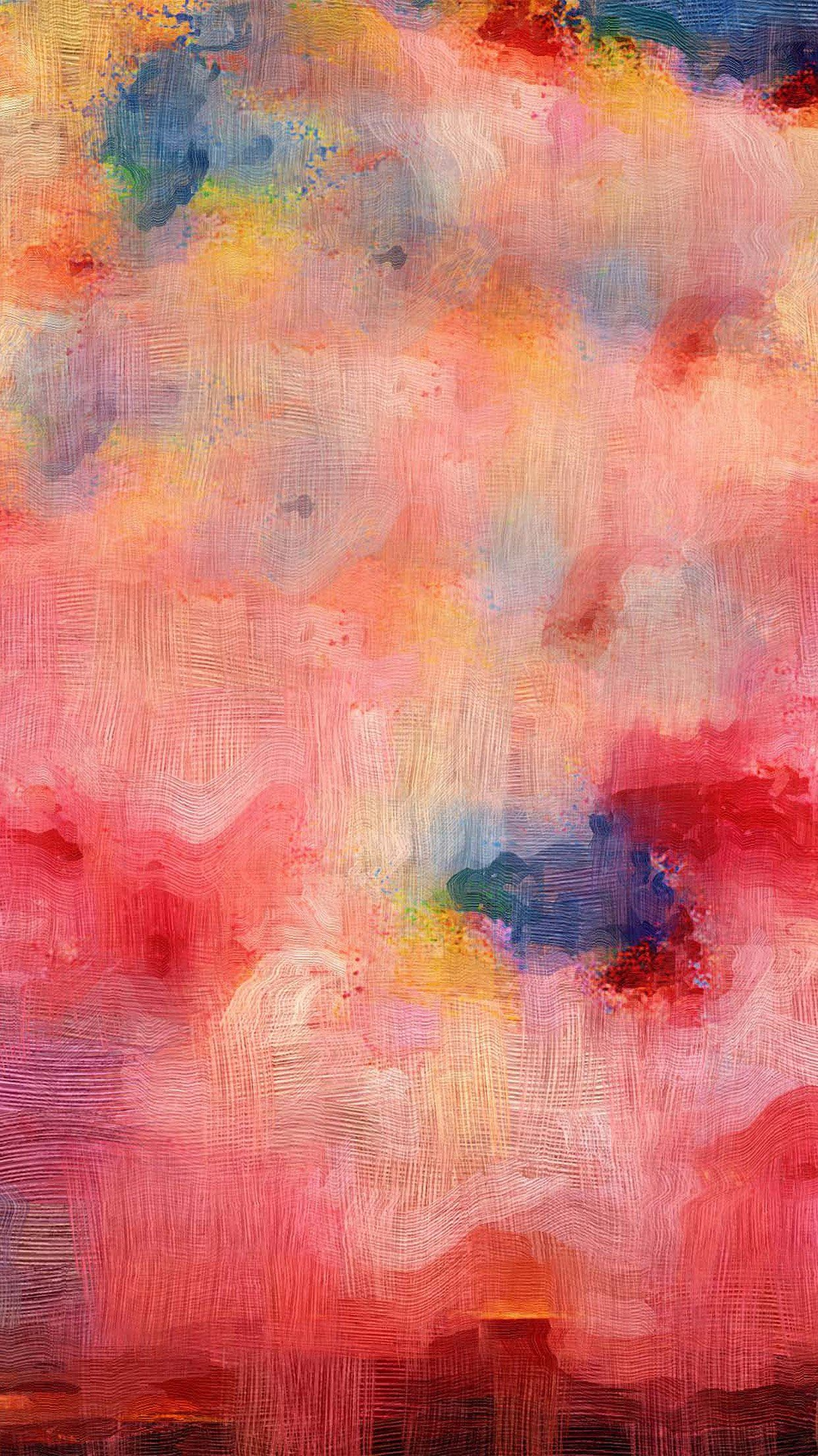 1242x2208 iPhone7papers - vl22-samsung-galaxy-pink-texture-art-oil-painting ...