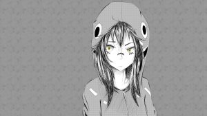Black and White Anime Aesthetic Wallpapers – Top Free Black and White Anime Aesthetic Backgrounds