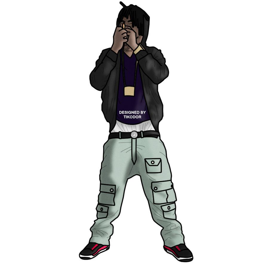 894x894 Chief Keef Digital Drawing 2 by Tikodor on DeviantArt