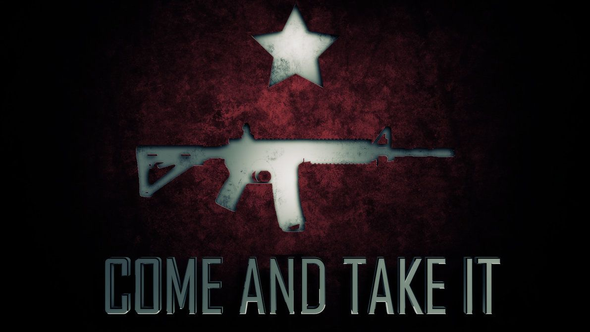 1191x670 Come And Take It by OverflowDesign on DeviantArt