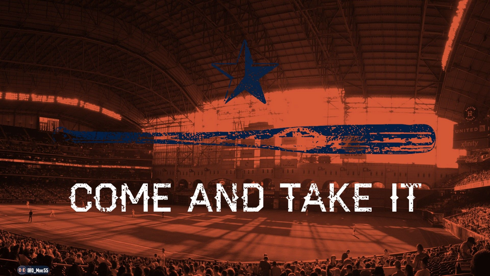 1920x1080 COME AND TAKE IT - Astros Wallpaper | Wallpaper Studio 10 | Tens of ...
