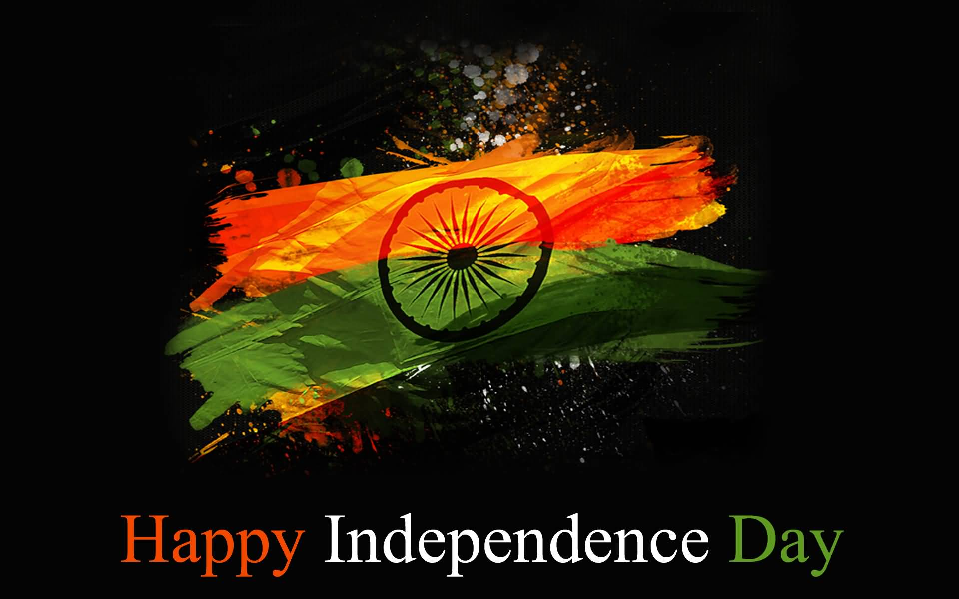1920x1200 Happy Independence Day Indian Flag Wallpaper