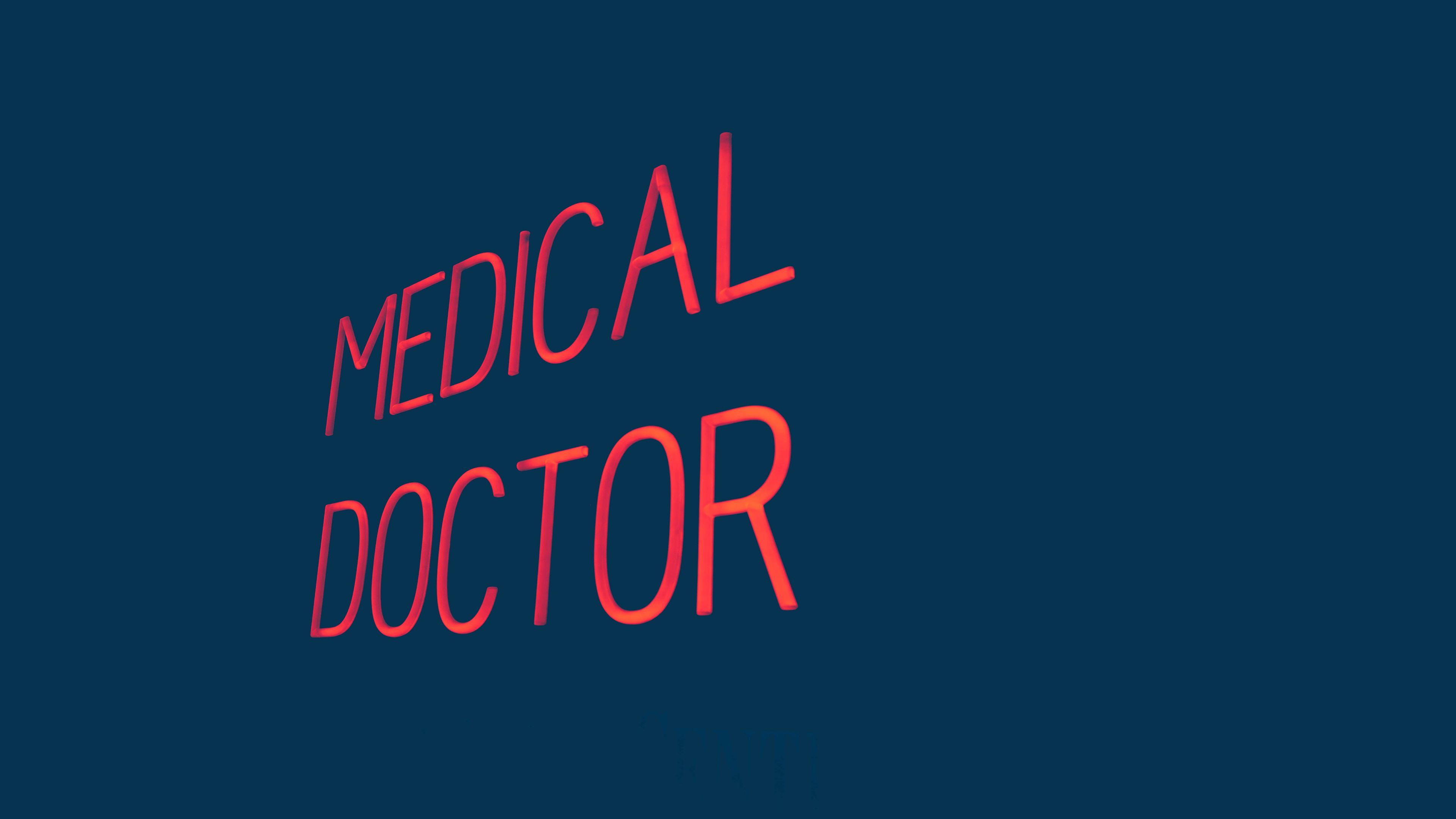3840x2160 Medical Doctor - An original photograph by me [3840x2160 ...
