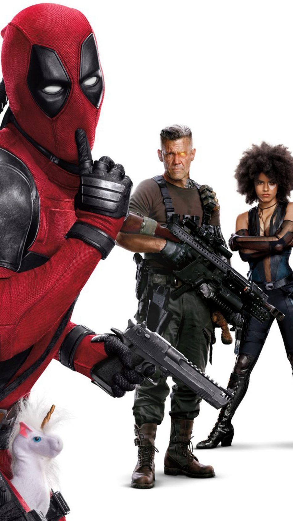 950x1689 Domino, Deadpool, Cable In Deadpool 2 | Модели | Pinterest | Mobile ...