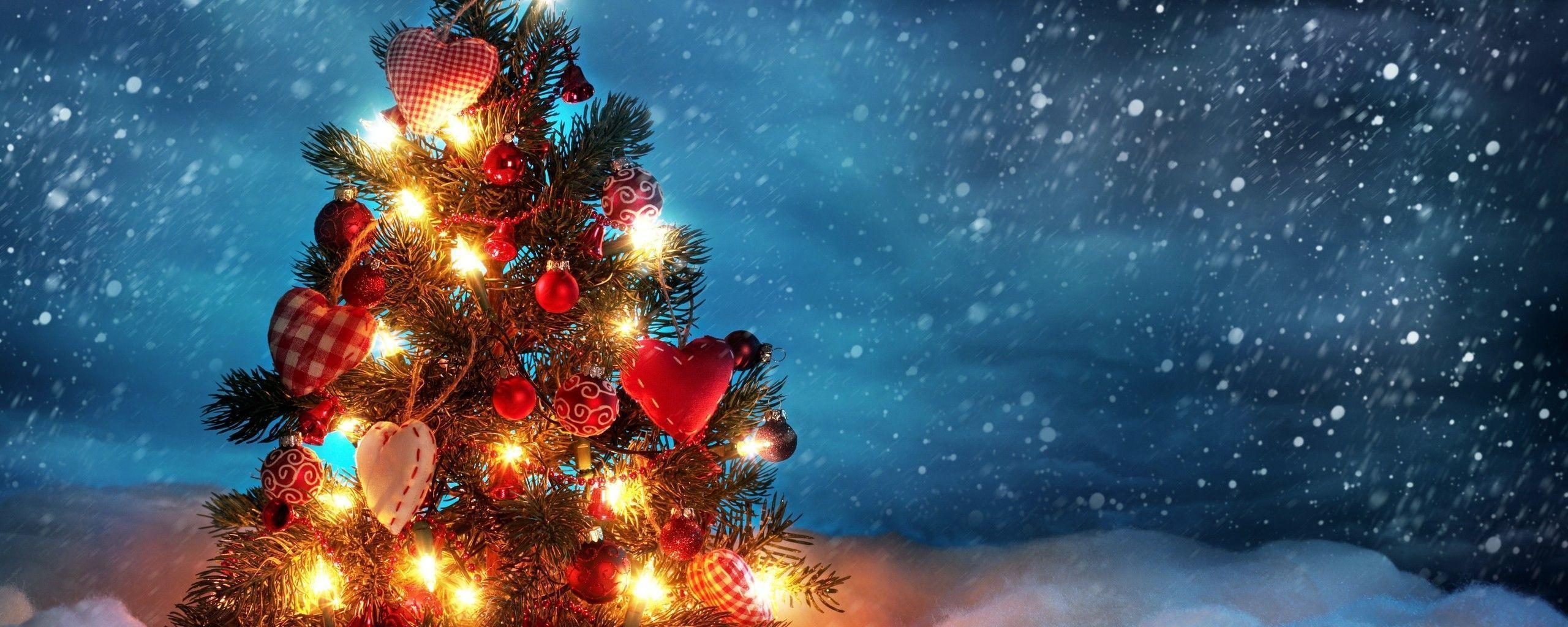 2560x1024 Christmas Screen Backgrounds