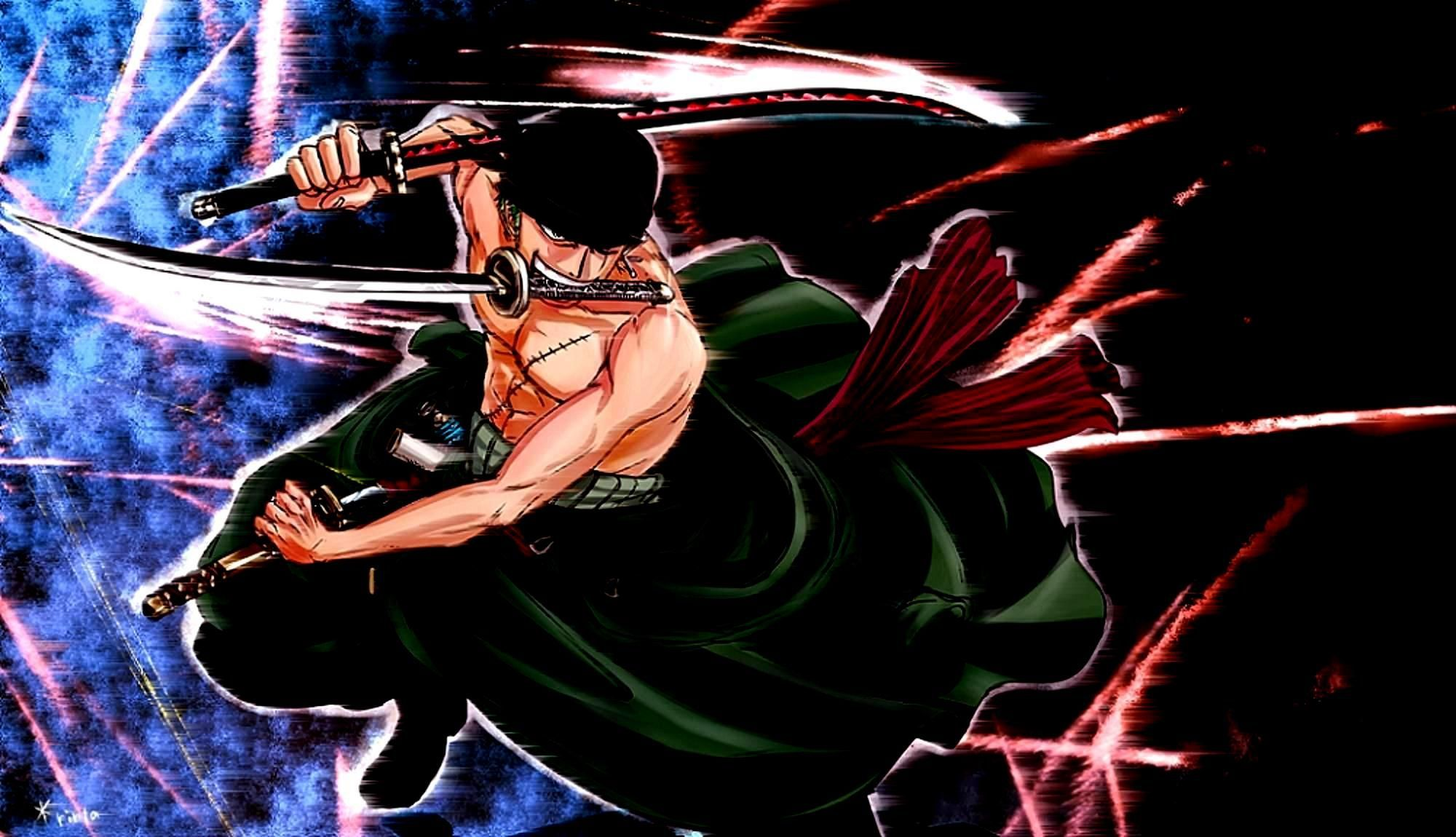 2000x1150 New One Piece Zoro Wallpaper Hd Desktop | animewallpaperjapan