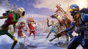 Christmas in 4K Fortnite Wallpapers – Top Free Christmas in 4K Fortnite Backgrounds