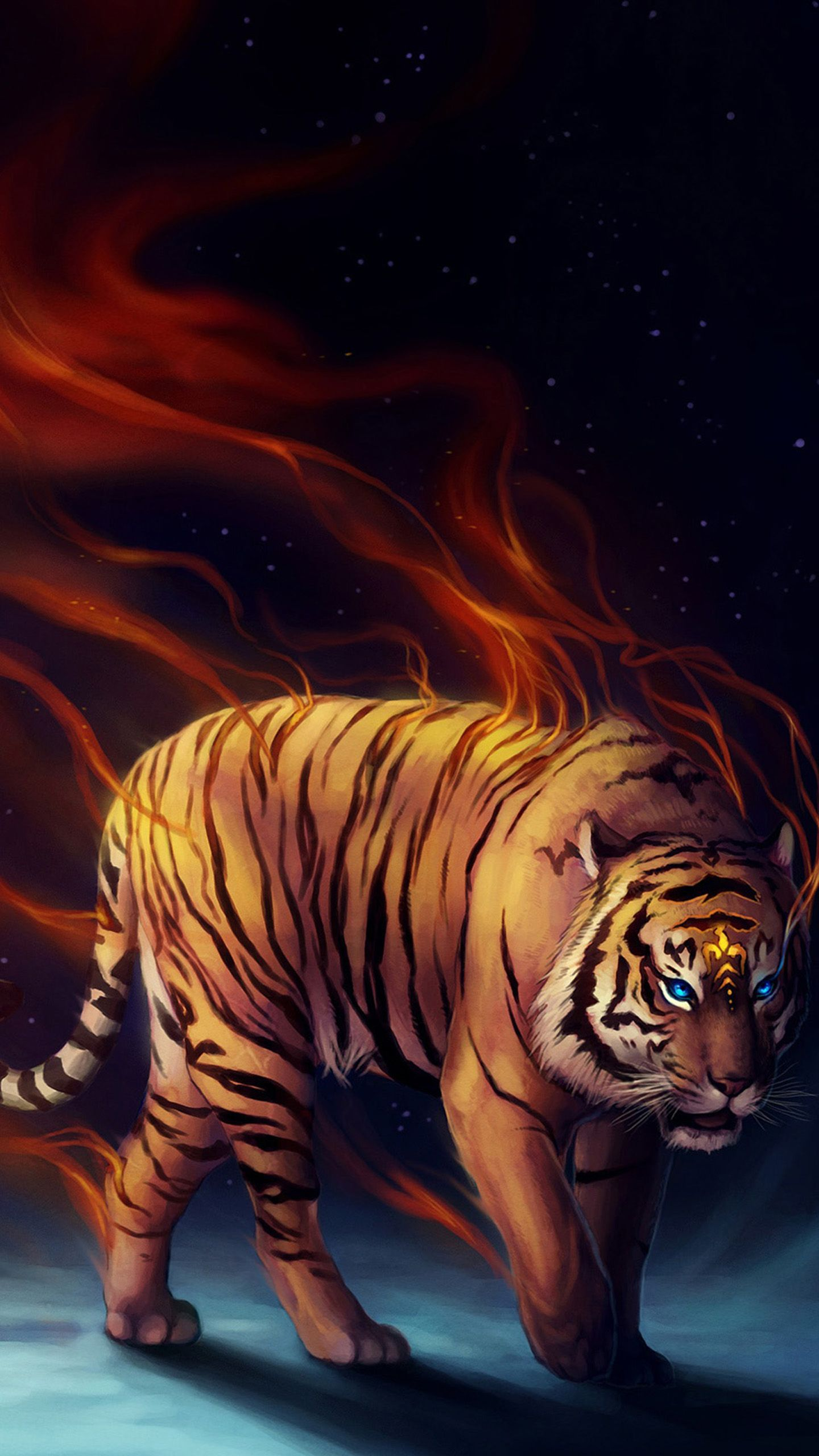 1440x2560 Power tiger Galaxy S8 Wallpapers   Galaxy S8 Wallpapers