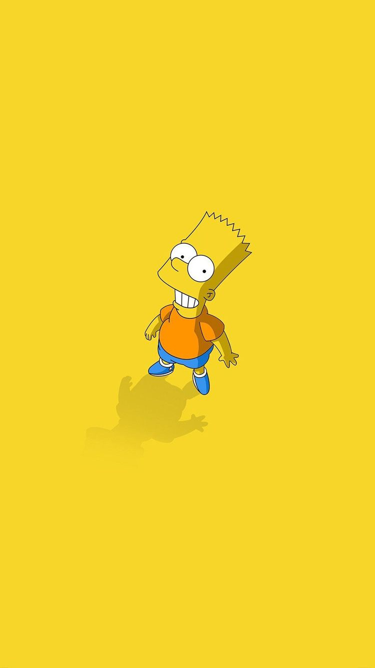 750x1334 Bart Simpson – the smallest cartoon iPhone 7 and 7 Plus Wallpapers ...