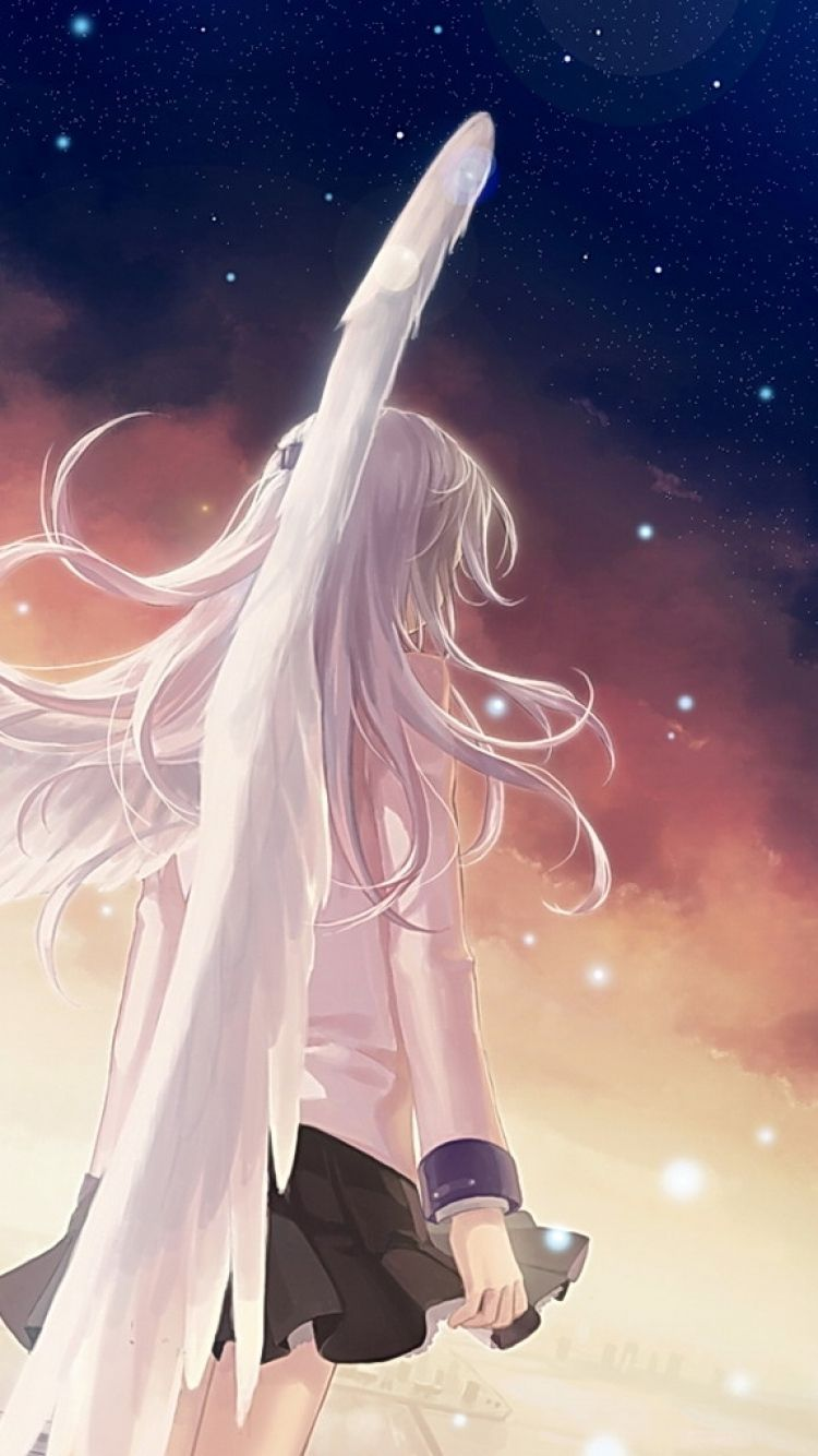 750x1334 Anime Angel Beats! wallpapers (Desktop, Phone, Tablet) - Awesome ...