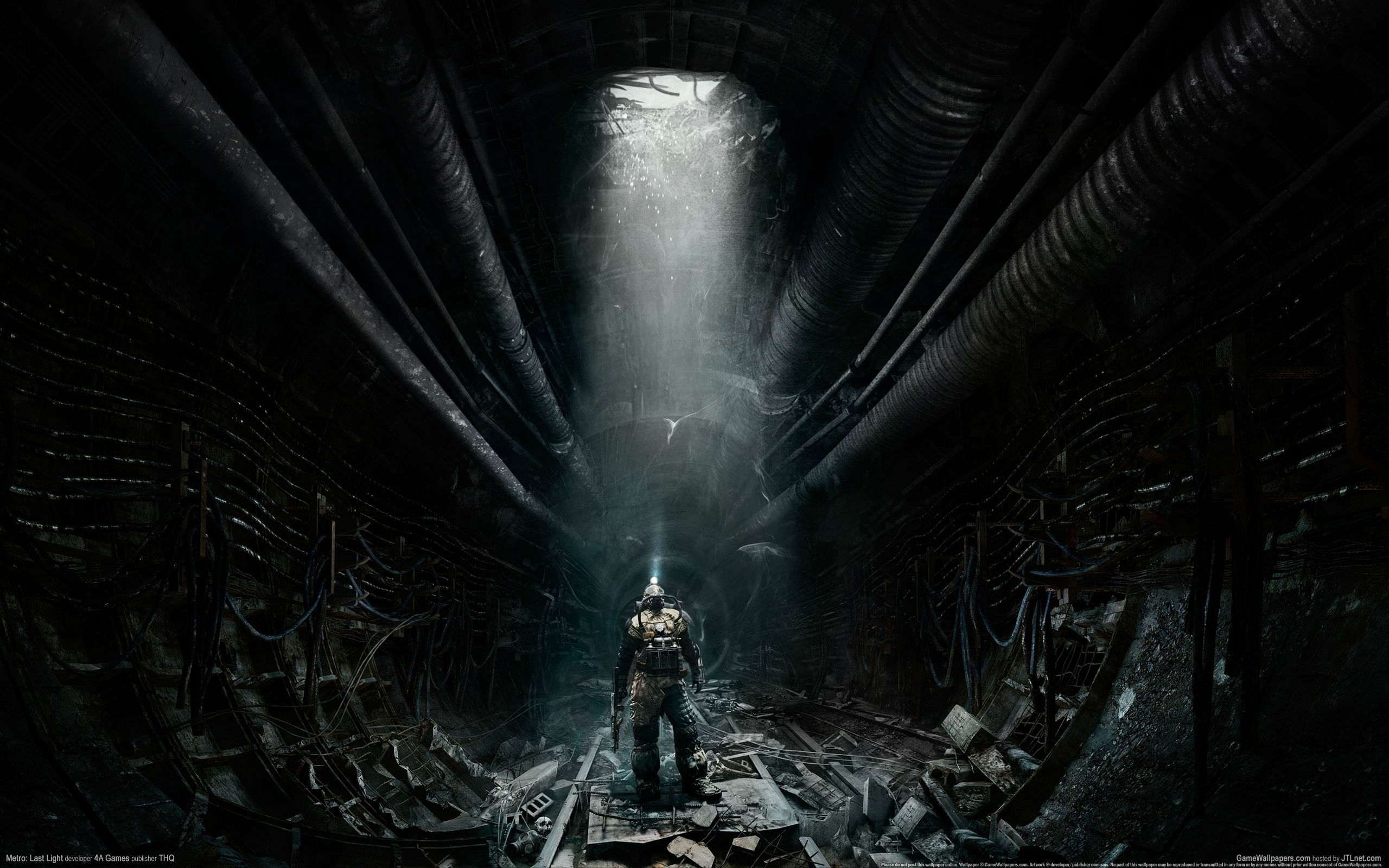 2560x1600 50 Metro: Last Light HD Wallpapers | Background Images - Wallpaper Abyss