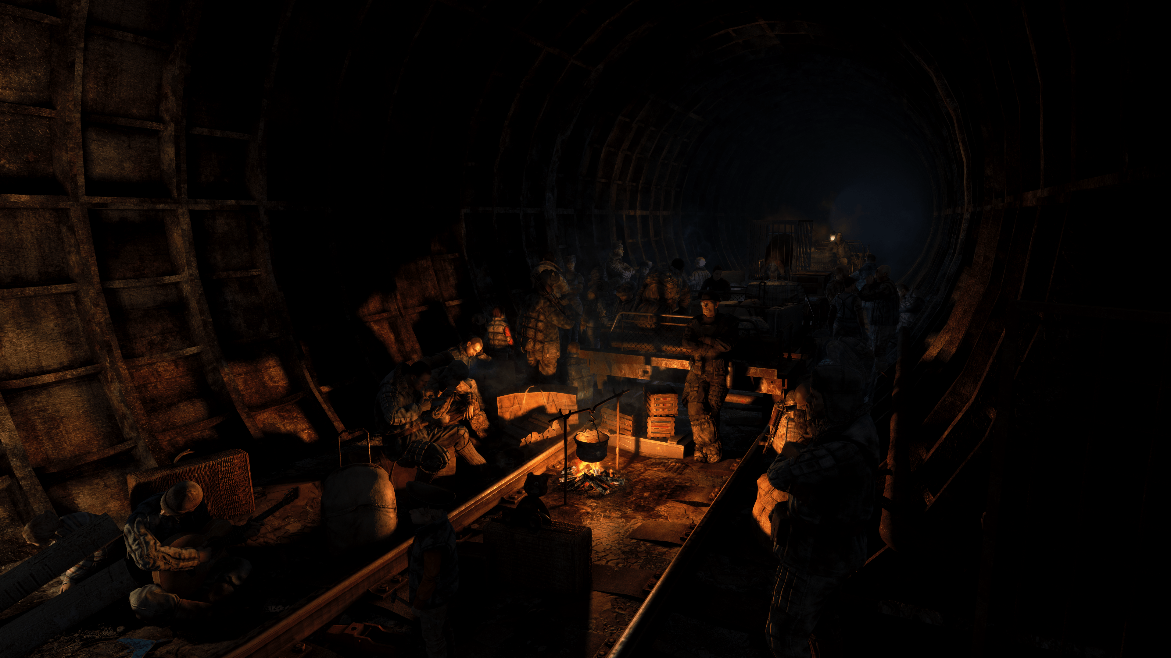 3840x2160 Metro 2033 Redux 4k Ultra HD Wallpaper and Background Image ...