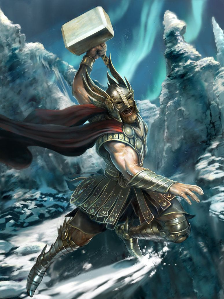774x1032 Image - Thor the norse god stage 2 by m0zch0ps-d7fw96p.jpg | Epic ...