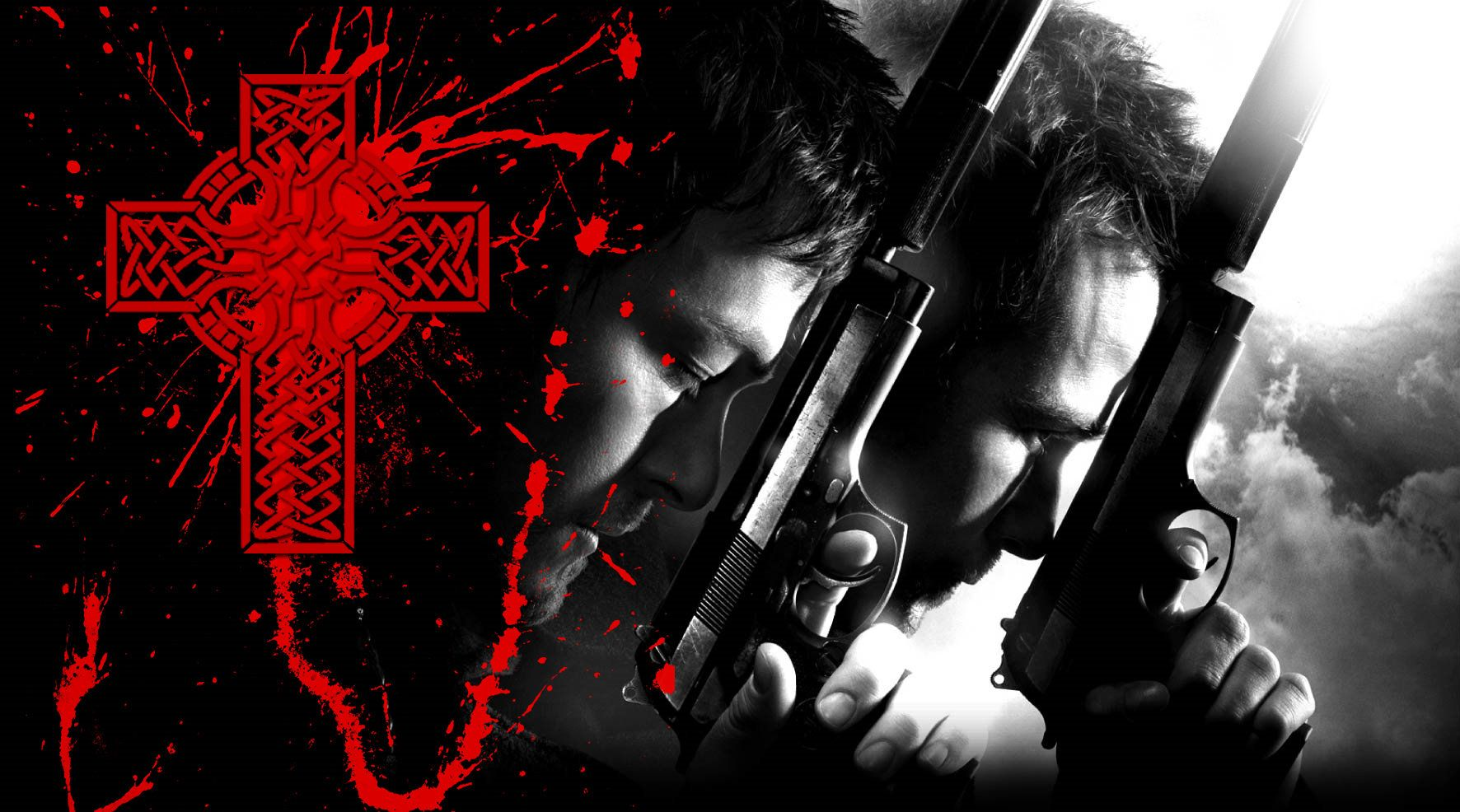 1772x986 Boondock Saints wallpaper by jimEYE on DeviantArt