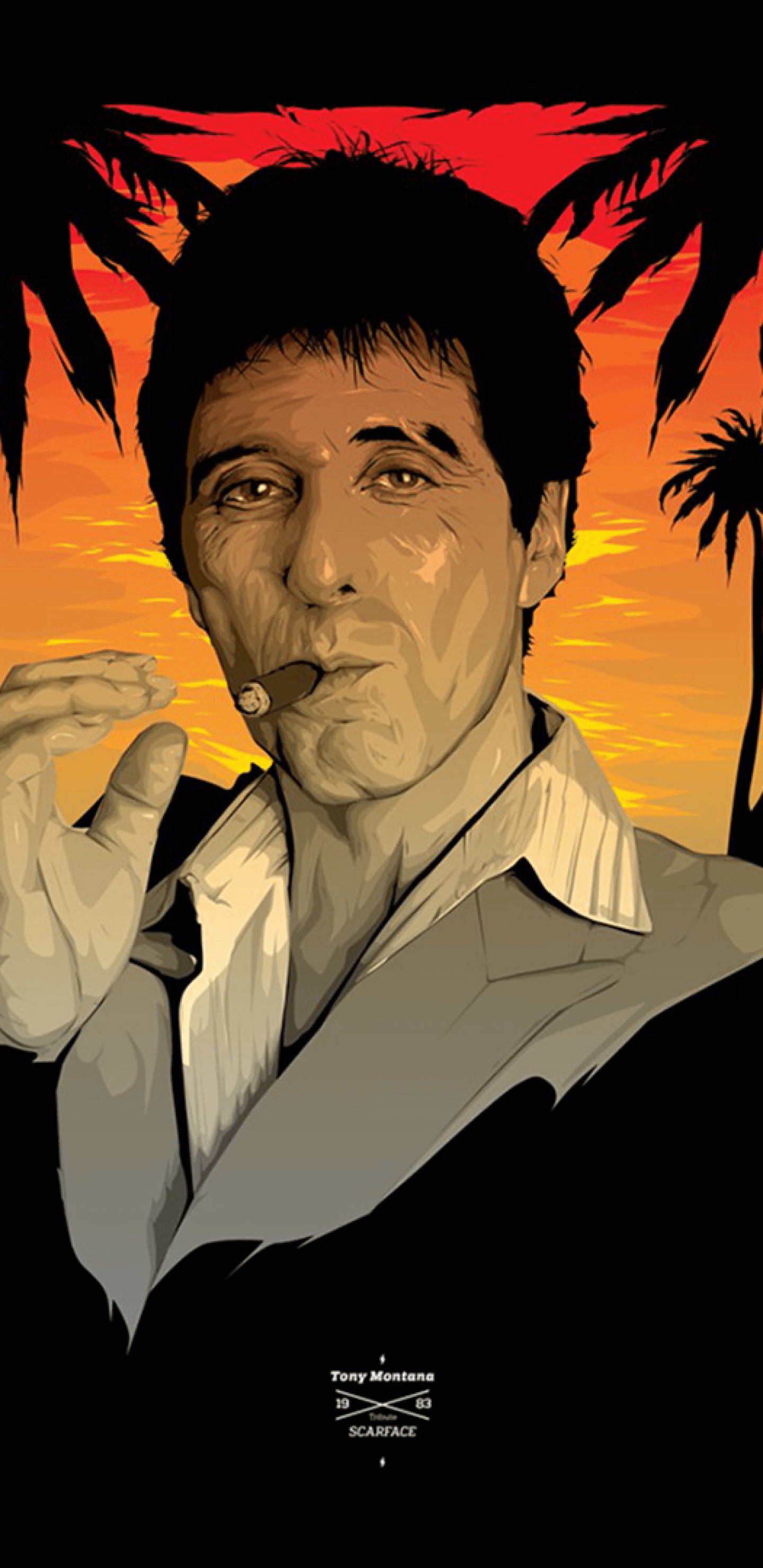 1440x2960 Download 1440x2960 Scarface, Tony Montana Wallpapers for Samsung ...