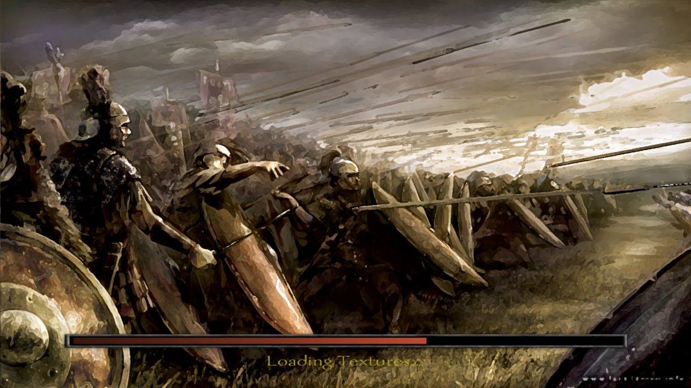 1366x768 Roman Army Wallpaper