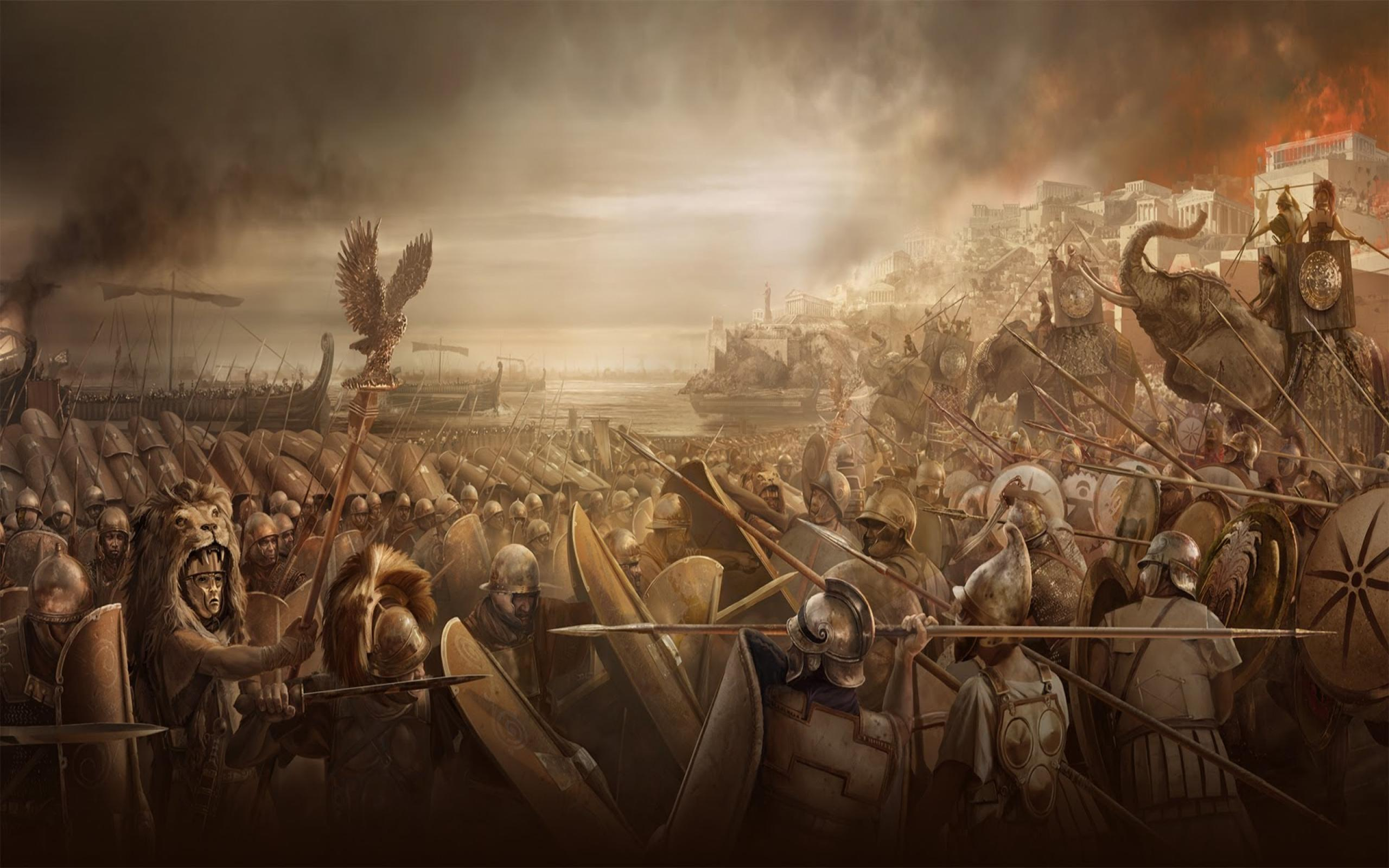 2560x1600 Roman Soldier Wallpaper-39376RN.jpg | Wall2Born.com