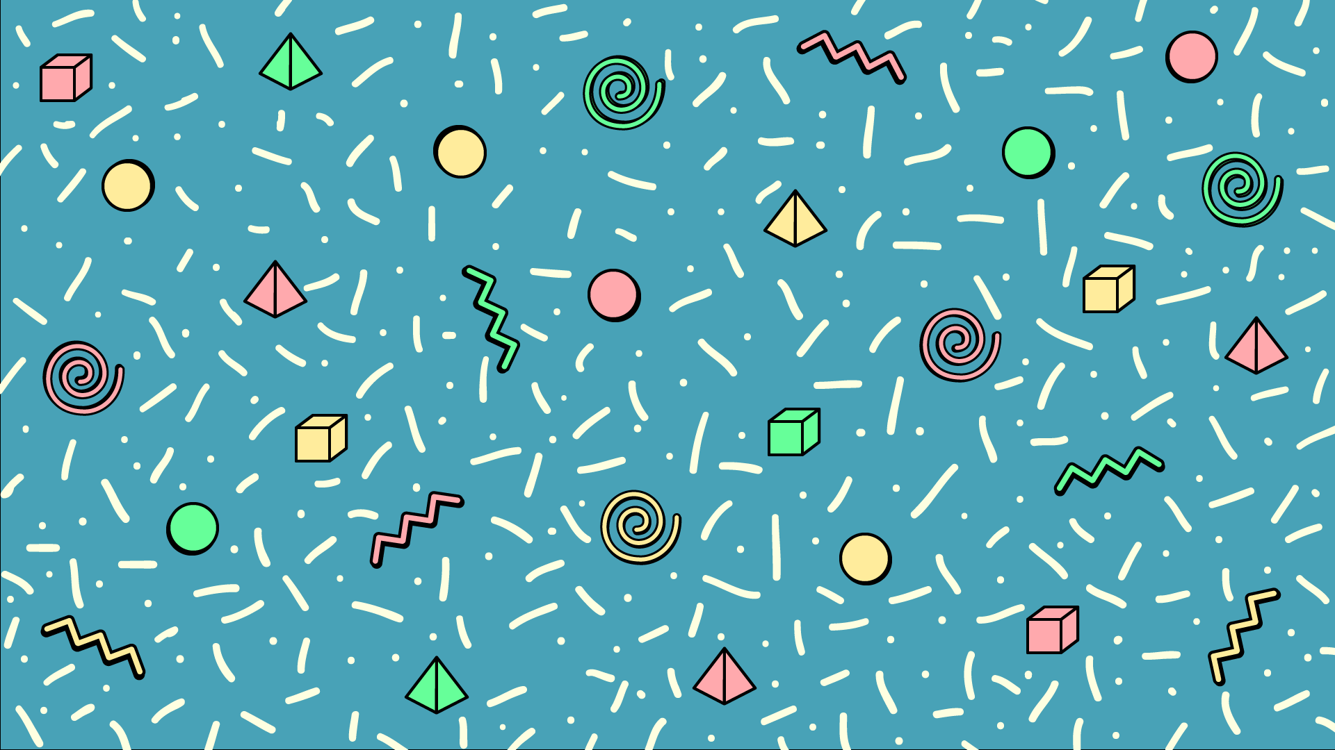 1920x1080 90s Wallpaper Patterns