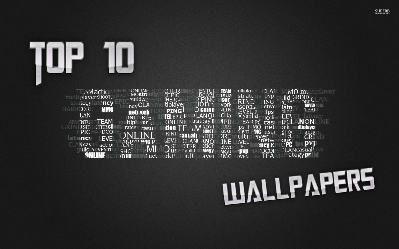 1680x1050 Top 10 Gaming Wallpapers! - YouTube