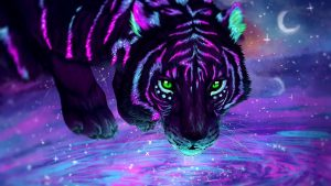 Neon Tiger Wallpapers – Top Free Neon Tiger Backgrounds