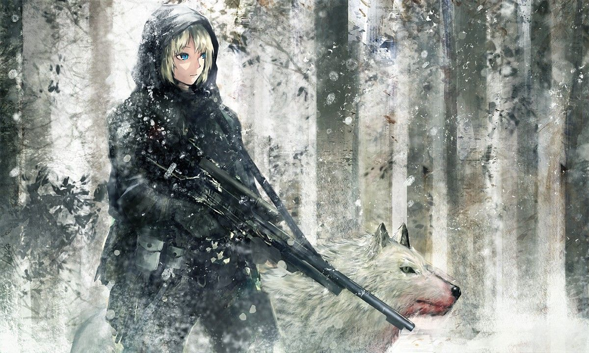 1200x720 Winter Season Snow Army Military Animals Weapons Wolves Fresh New Hd ...
