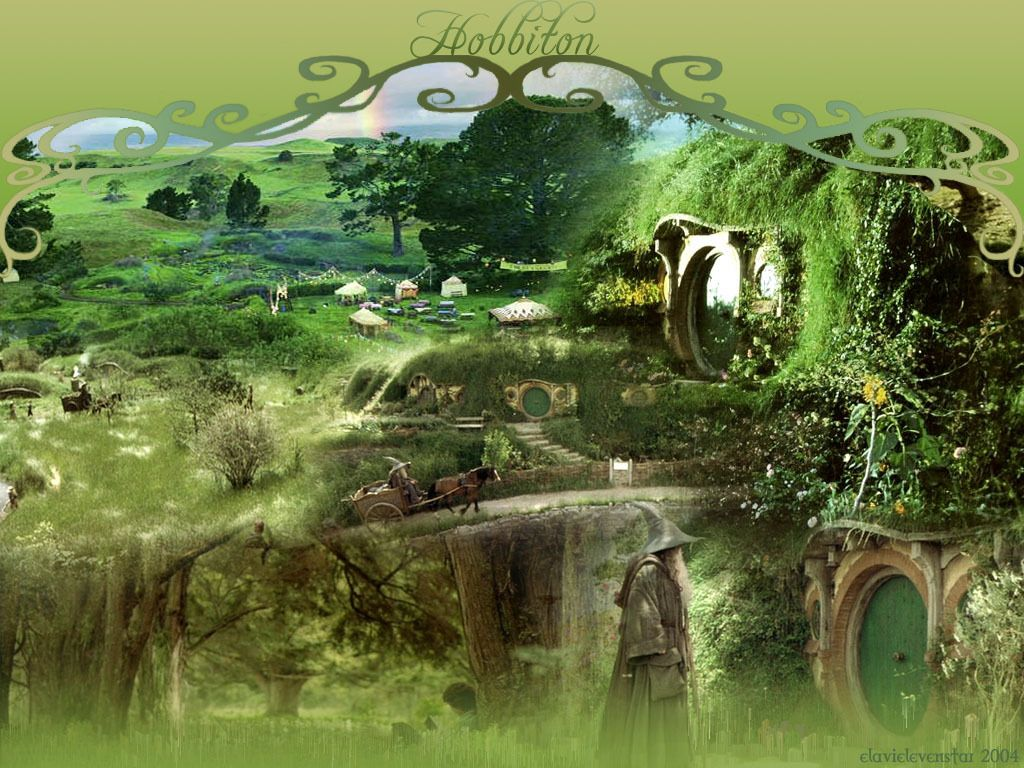 1024x768 Lord of the Rings images Hobbiton HD wallpaper and background photos ...