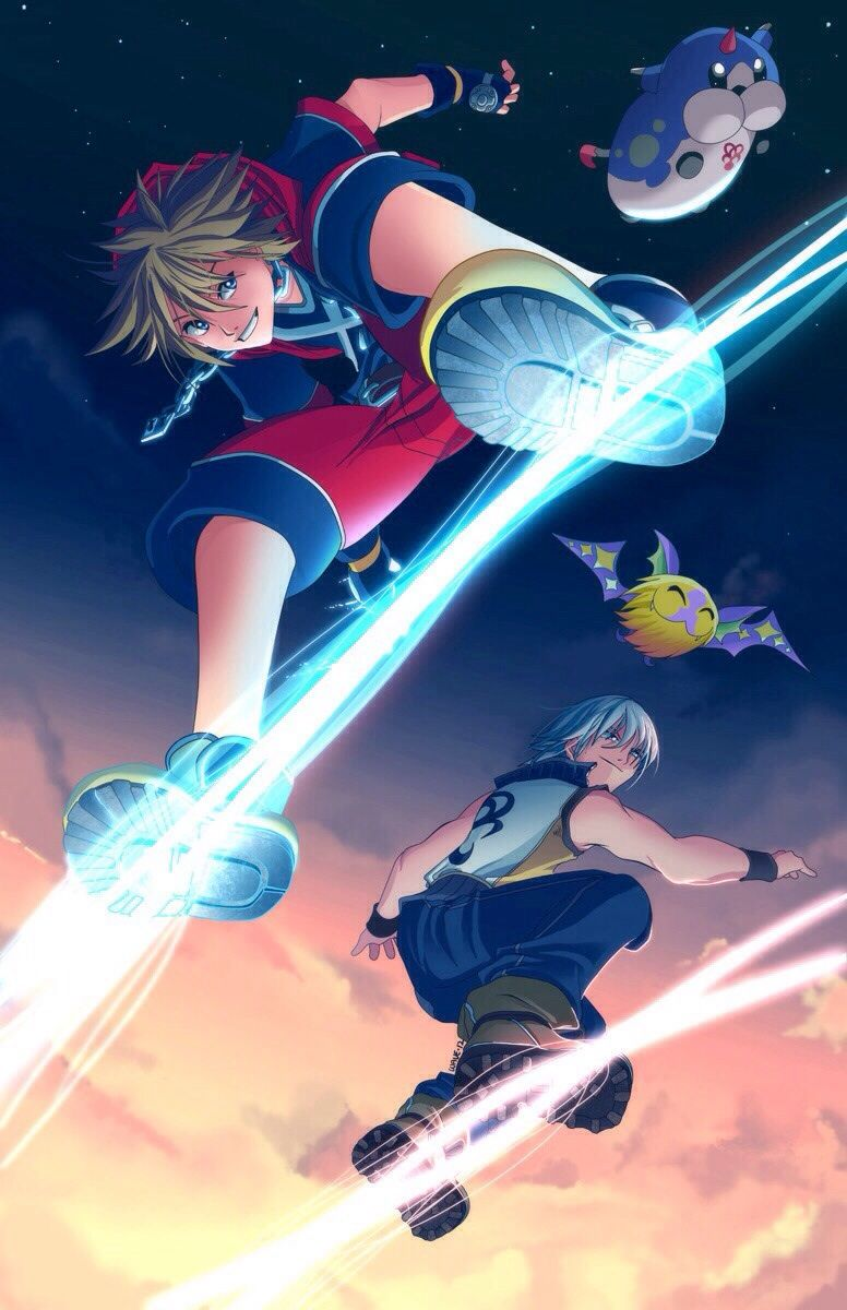 776x1200 Found a wallpaper (iPhone) on my search of kingdom hearts. Dunno if ...