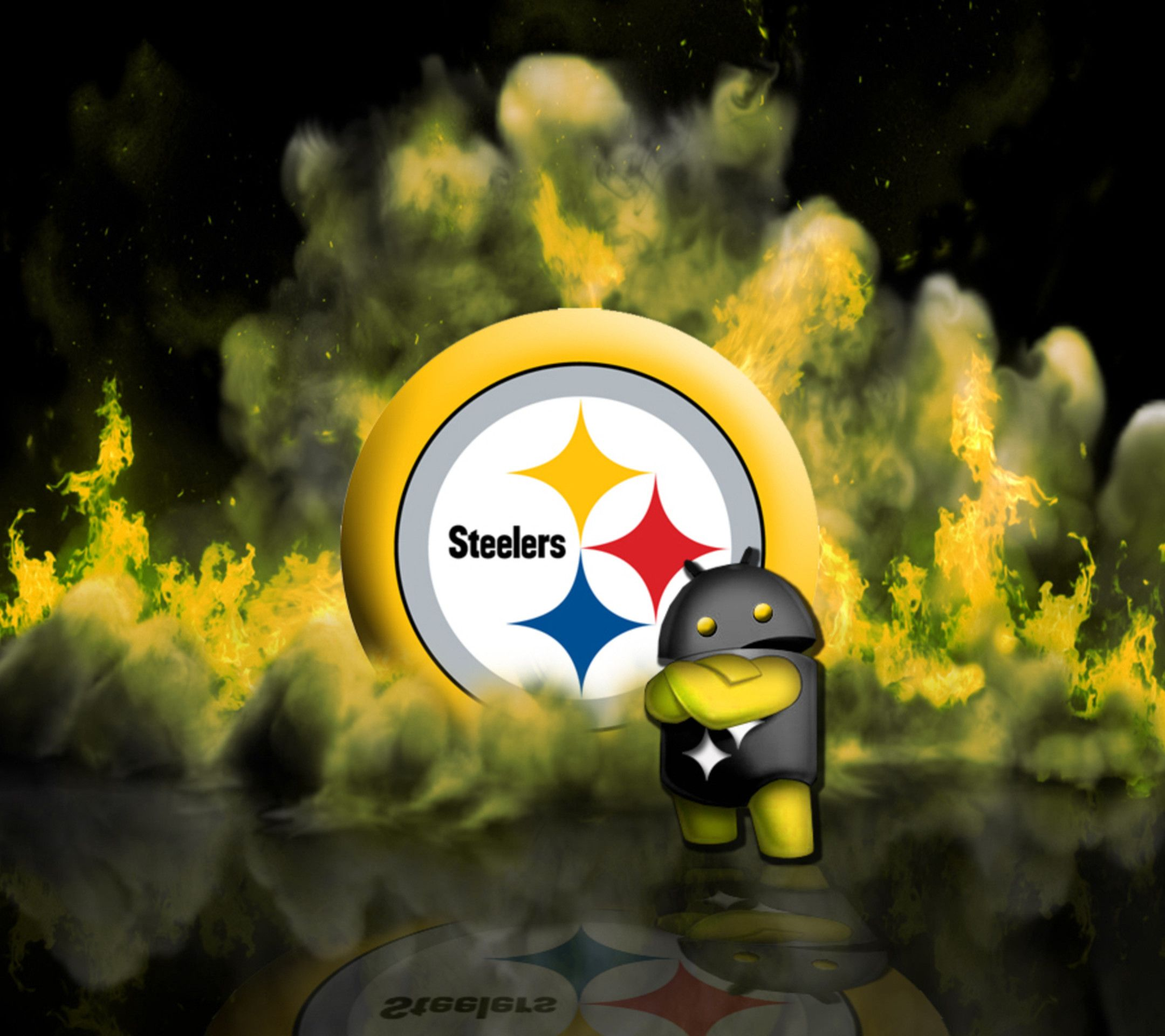 2160x1920 54+ Steelers Christmas Wallpapers on WallpaperPlay