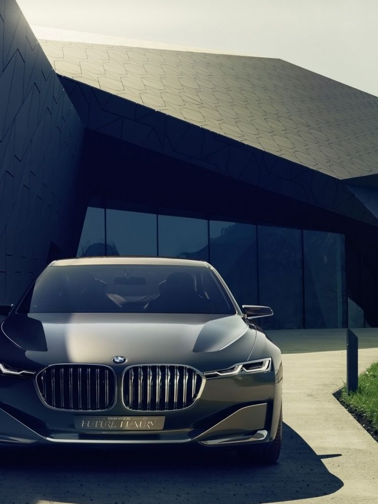 768x1024 768x1024 BMW Vision Future Luxury Concept Ipad wallpaper