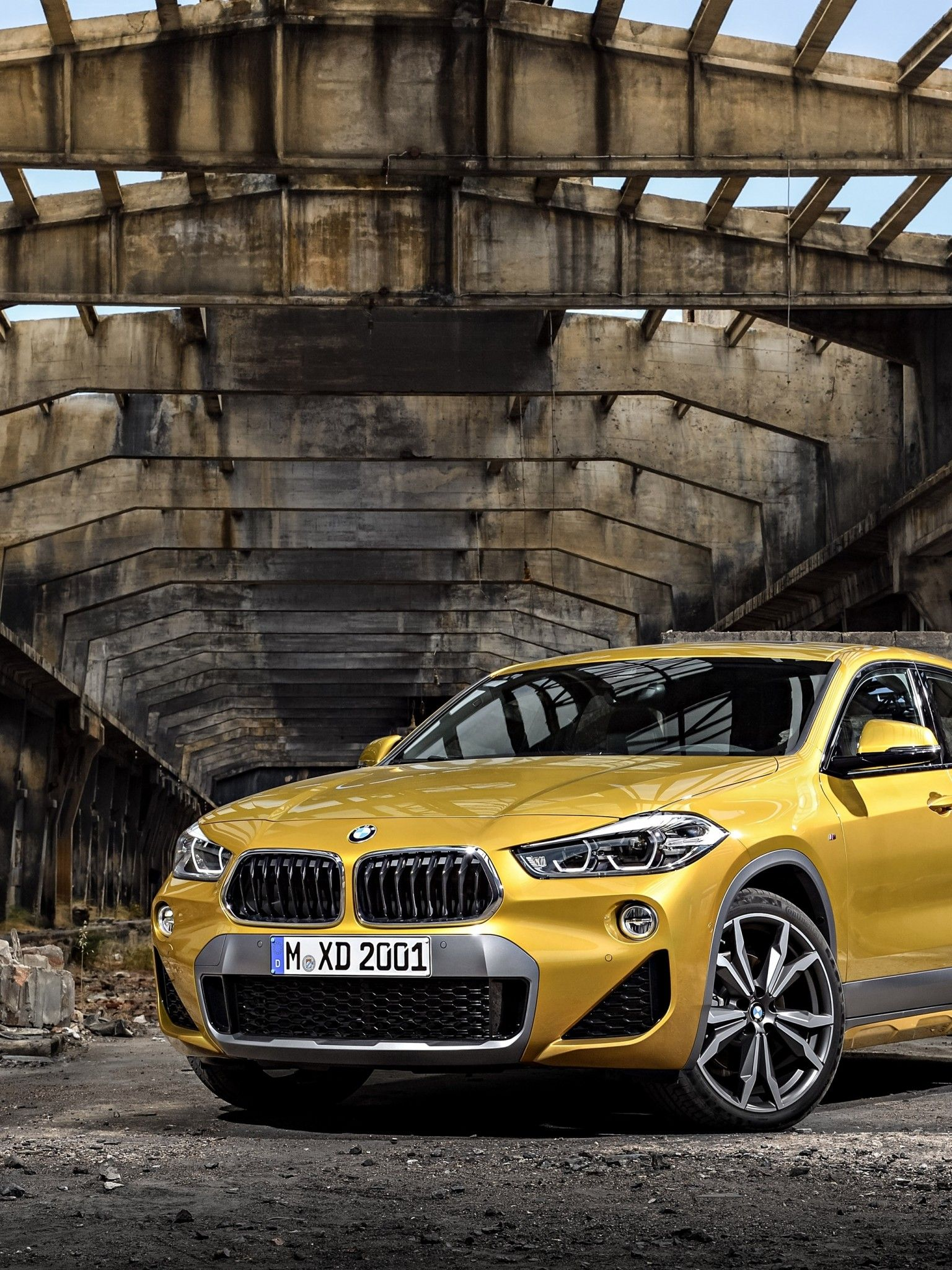 1536x2048 Download 1536x2048 Bmw X2, Yellow, Luxury, Cars Wallpapers for Apple ...