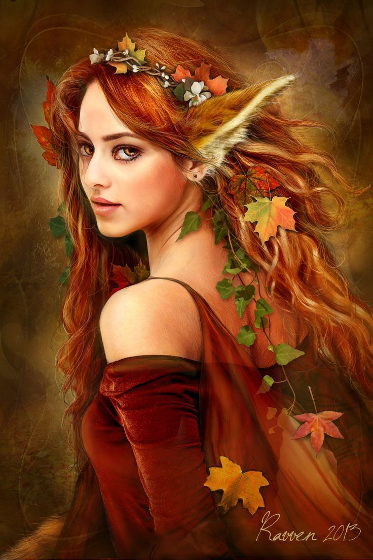 736x1104 Autumn Fairy Fantasy Wallpaper iPhone 8 | iPhoneWallpapers | Fantasy ...