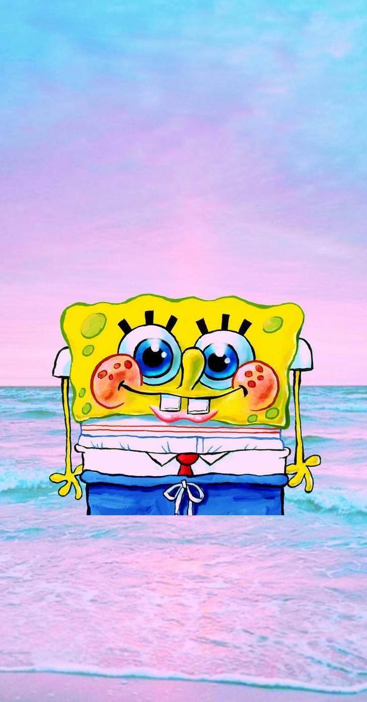 728x1392 Spongebob Aesthetic Phone Wallpapers 3 in 2019 | Disney ...