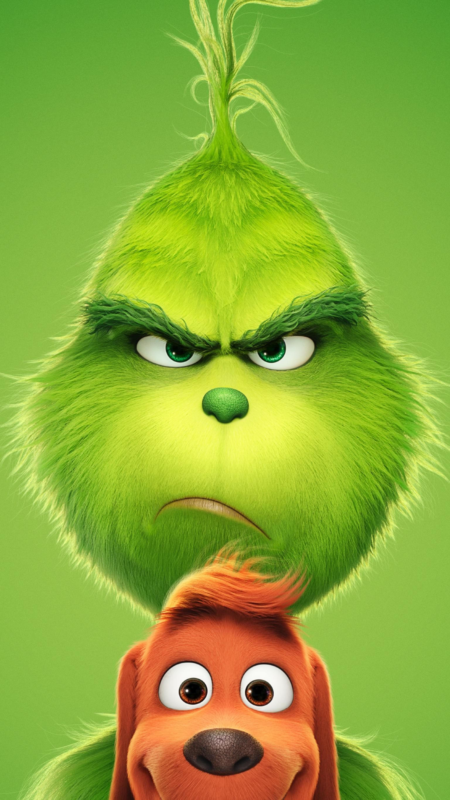 1536x2732 The Grinch (2018) Phone Wallpaper in 2019 | Wallpapers | Grinch, The ...