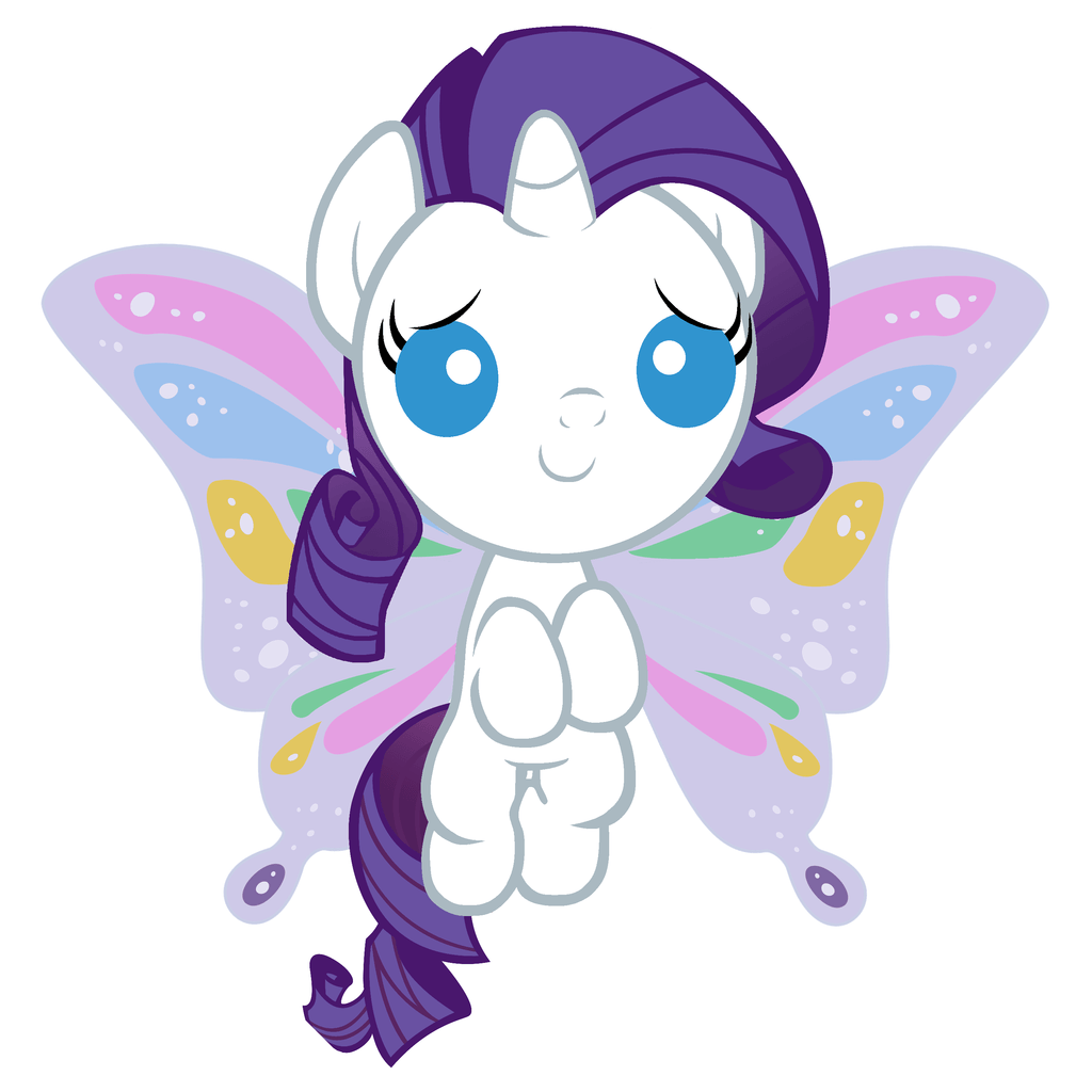 1024x1024 Rarity the Unicorn images Rarity as a Baby HD wallpaper and ...