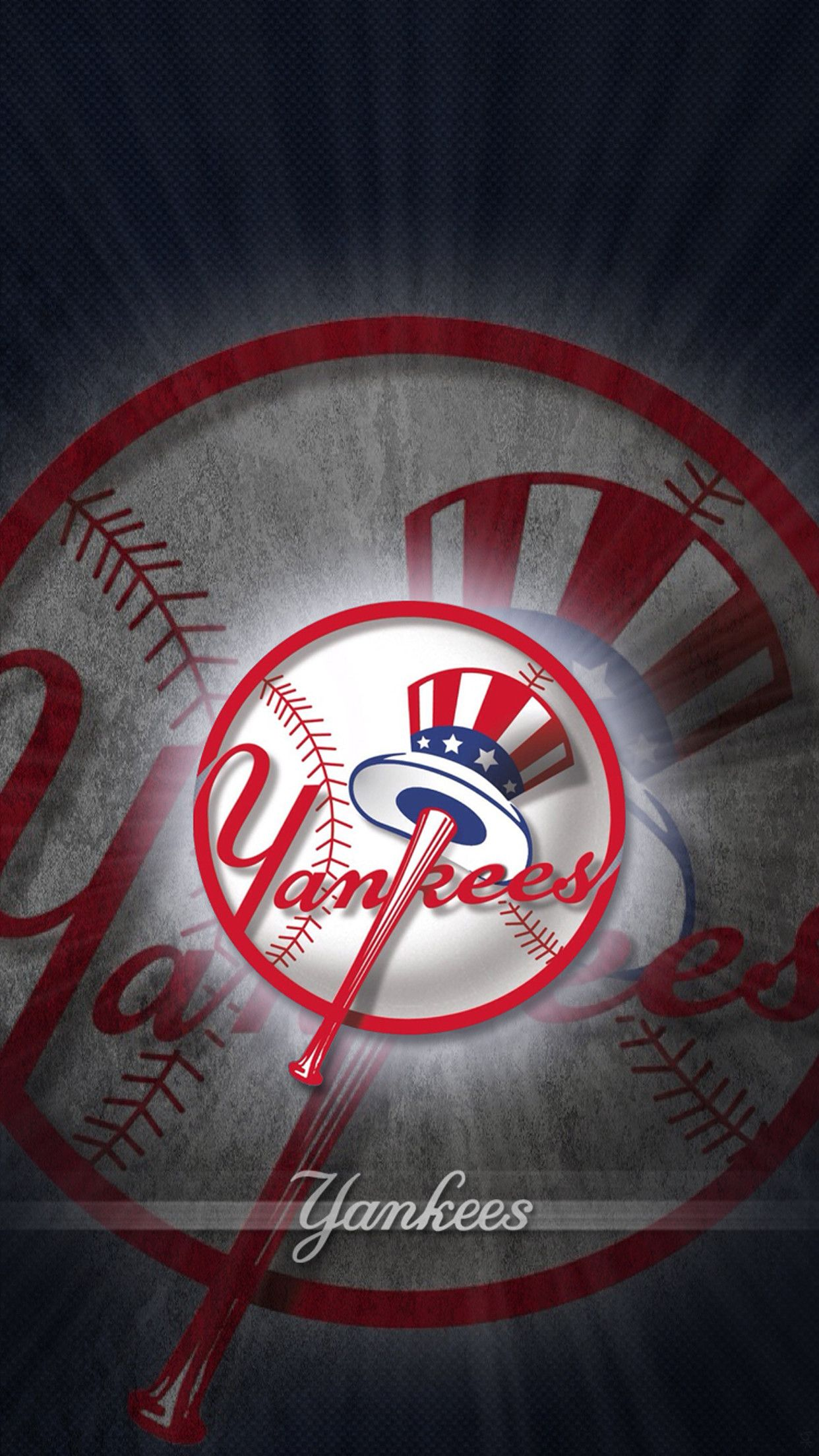 1242x2208 73+ Ny Yankees Wallpapers on WallpaperPlay