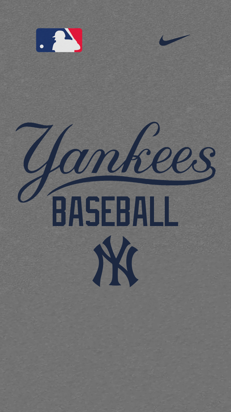 750x1334 New York Yankees Phone Wallpapers - B1G Baseball