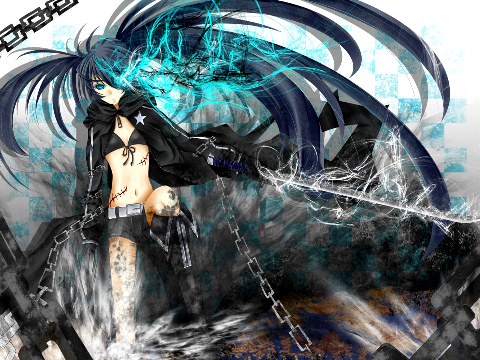 1600x1200 Black Rock Shooter HD Wallpapers (High Quality) - All HD Wallpapers