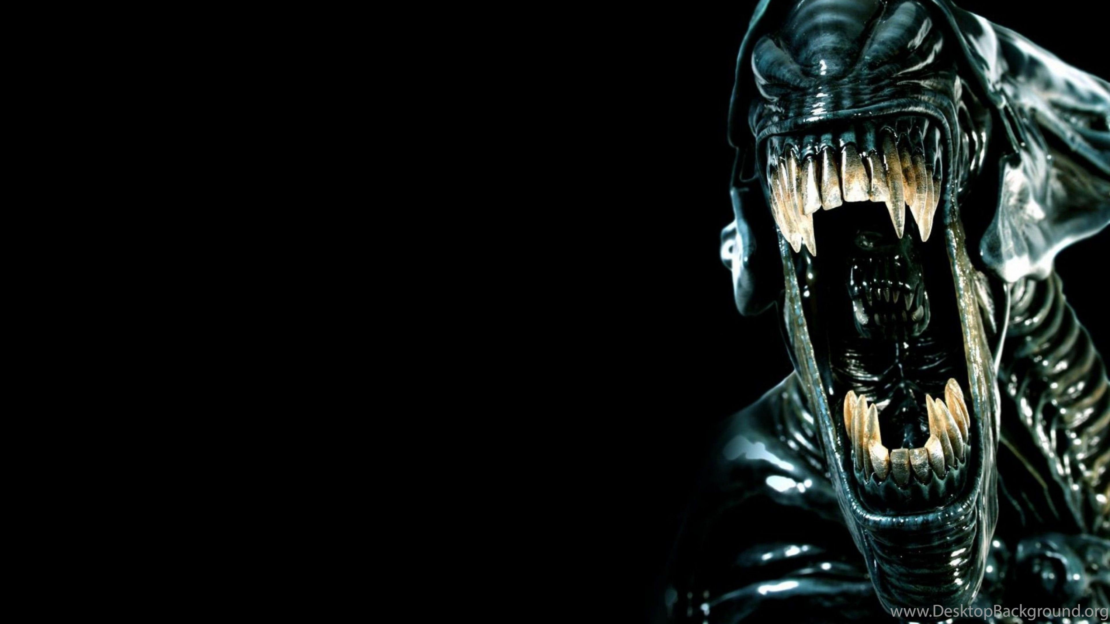 3840x2160 Alien Wallpapers Desktop Free Download Desktop Background