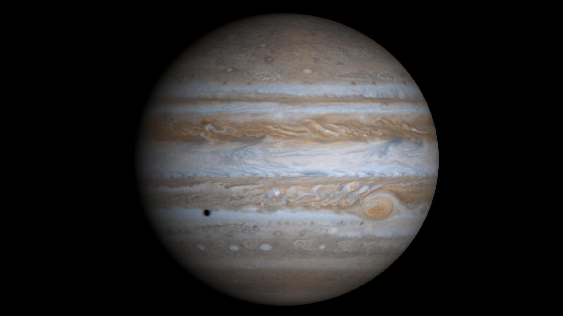 1820x1024 Space Images | High Resolution Globe of Jupiter
