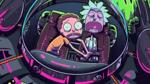 Rick and Morty Trippy Spaceship Wallpapers – Top Free Rick and Morty Trippy Spaceship Backgrounds