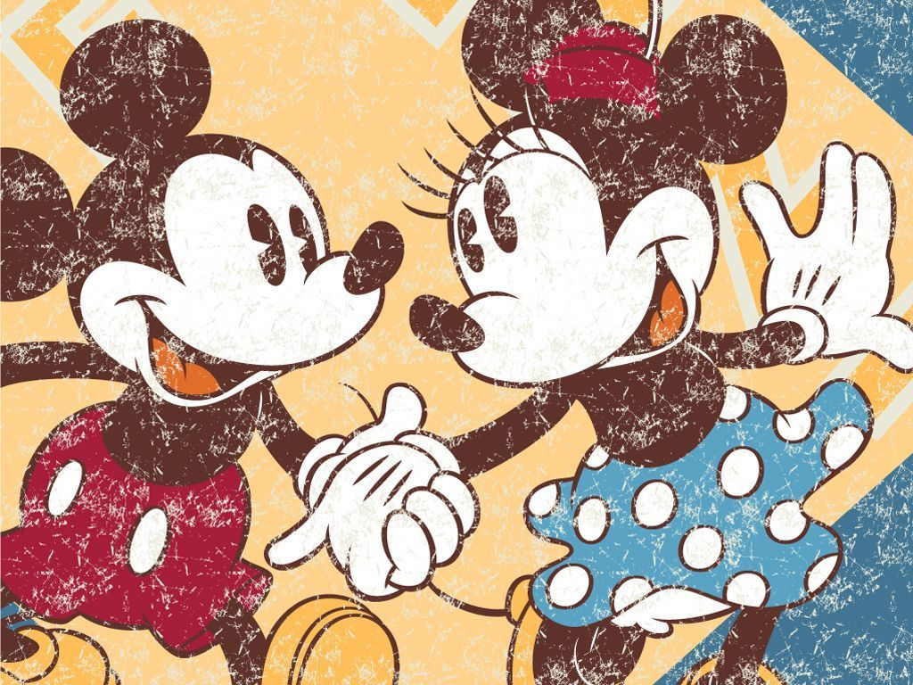 1024x768 Free Mickey Mouse And Minnie Mouse, Download Free Clip Art, Free ...