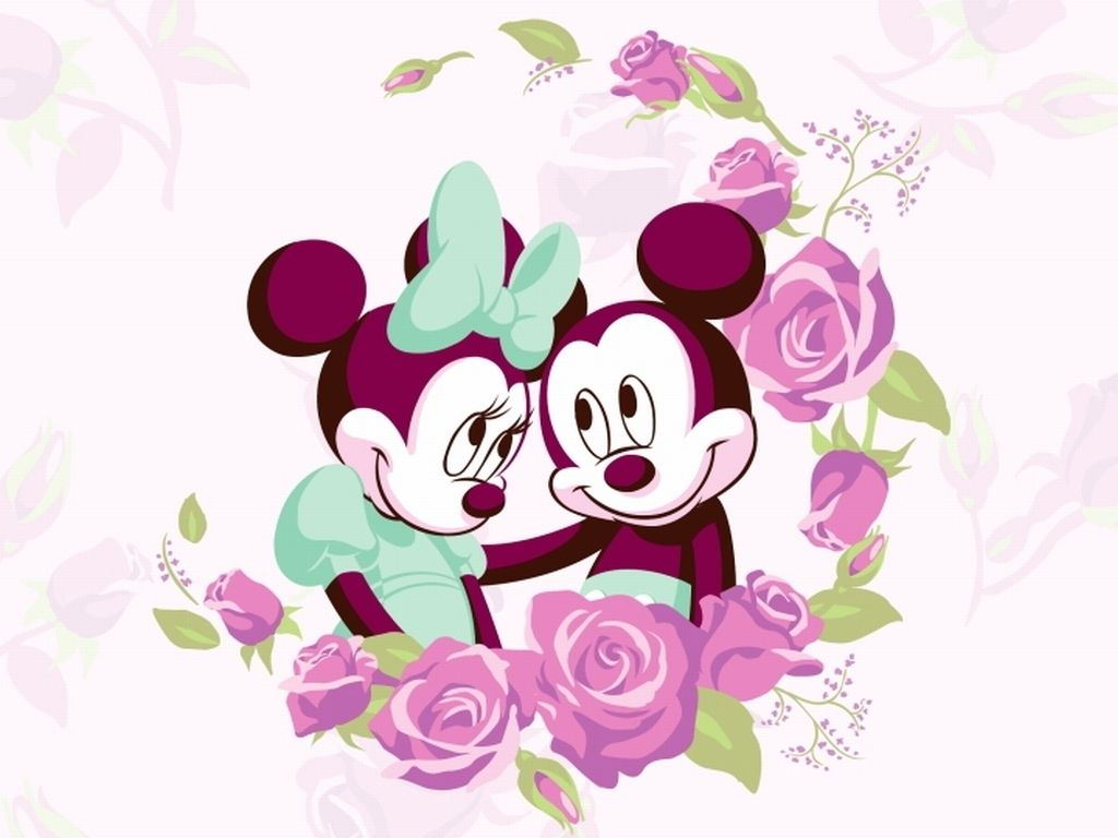 1024x768 Free Mickey Mouse Love, Download Free Clip Art, Free Clip Art on ...